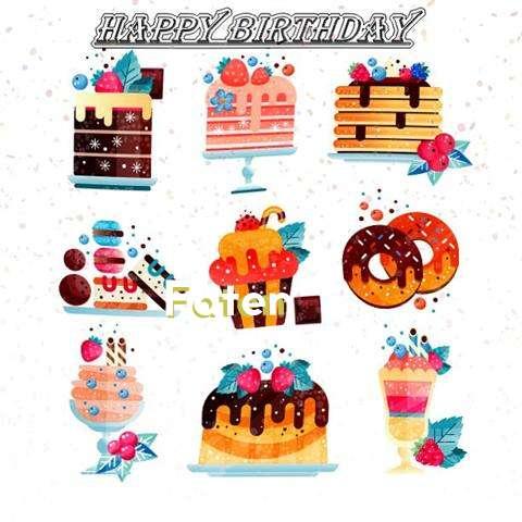 Happy Birthday to You Faten