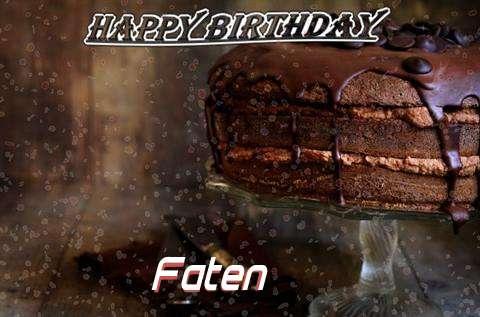 Happy Birthday Cake for Faten