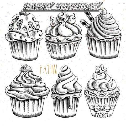 Happy Birthday Cake for Fatin