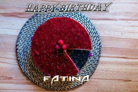 Happy Birthday Wishes for Fatina
