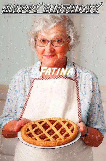 Happy Birthday to You Fatina