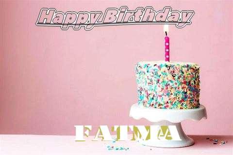 Happy Birthday Wishes for Fatma
