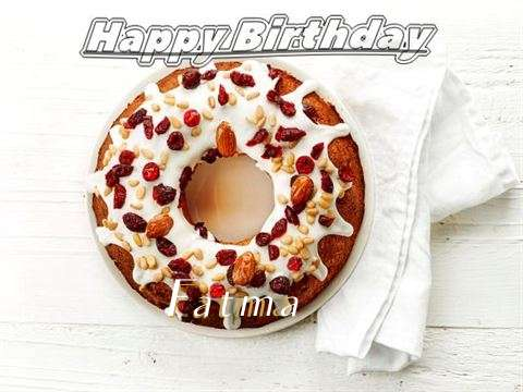 Happy Birthday Cake for Fatma