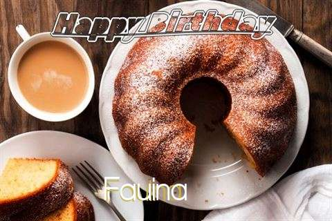 Happy Birthday Fauina