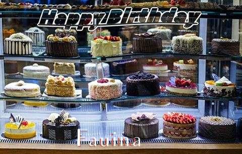 Happy Birthday Fauina Cake Image