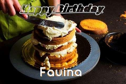Fauina Birthday Celebration
