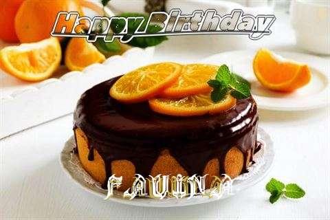 Happy Birthday to You Fauina