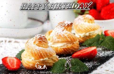 Happy Birthday Faun Cake Image