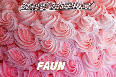 Faun Birthday Celebration