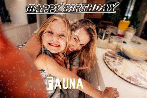 Happy Birthday Fauna