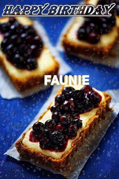 Happy Birthday Faunie