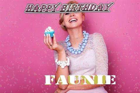 Happy Birthday Wishes for Faunie