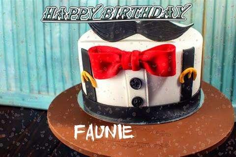 Happy Birthday Cake for Faunie