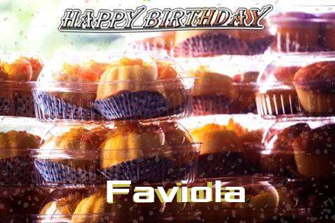 Happy Birthday Wishes for Faviola