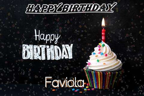 Happy Birthday to You Faviola