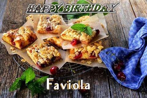 Happy Birthday Cake for Faviola