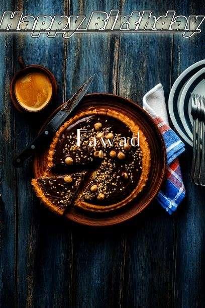 Happy Birthday Cake for Fawad