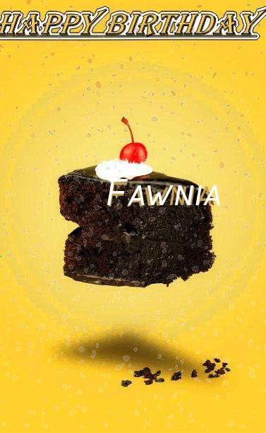Happy Birthday Fawnia