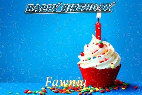 Happy Birthday Wishes for Fawnia