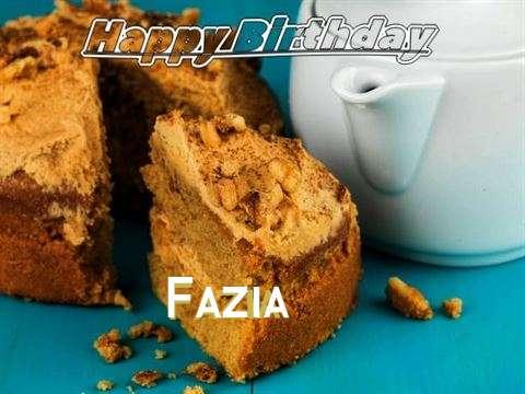 Happy Birthday Fazia