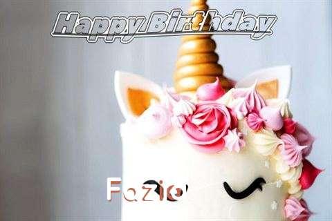 Happy Birthday Fazia Cake Image