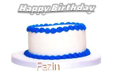 Happy Birthday Fazin