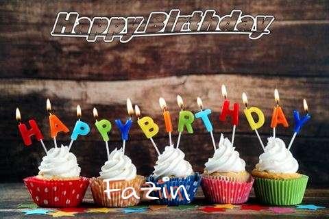 Happy Birthday Fazin Cake Image
