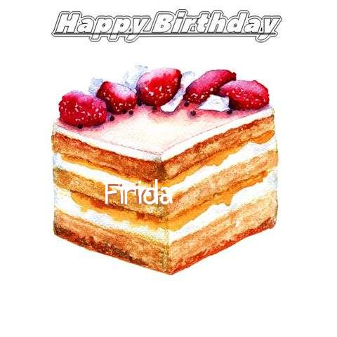 Happy Birthday Firida