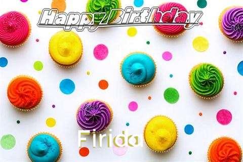 Birthday Images for Firida