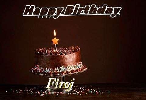 Happy Birthday Cake for Firoj