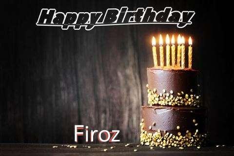 Happy Birthday Cake for Firoz
