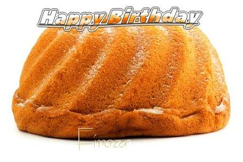 Happy Birthday Firoza Cake Image