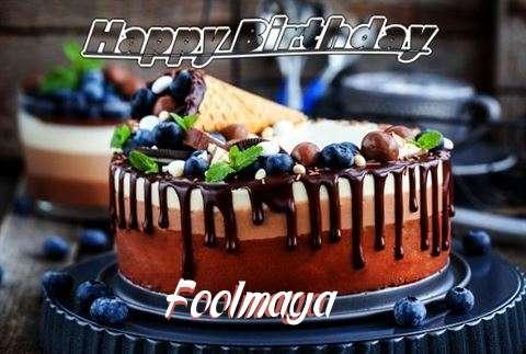 Happy Birthday Cake for Foolmaya