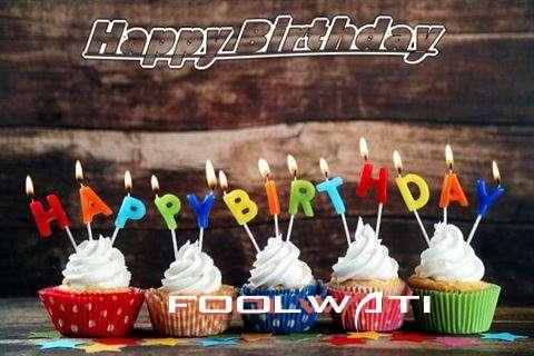 Happy Birthday Foolwati Cake Image