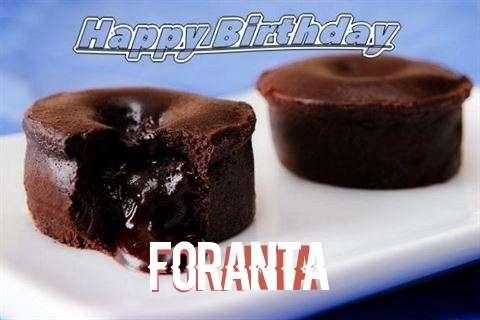 Happy Birthday Wishes for Foranta