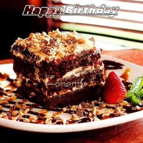 Happy Birthday Cake for Foranta