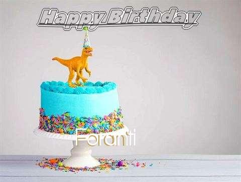 Happy Birthday Cake for Foranti