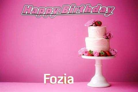 Happy Birthday Wishes for Fozia
