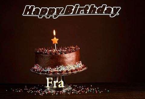 Happy Birthday Cake for Fra