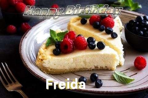 Happy Birthday Wishes for Freida