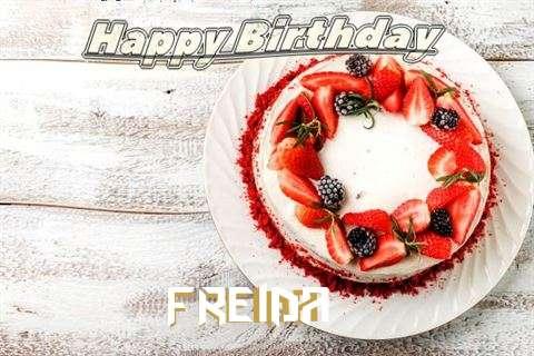 Happy Birthday to You Freida