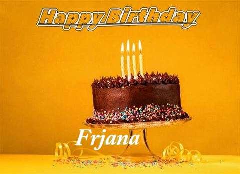 Happy Birthday Frjana