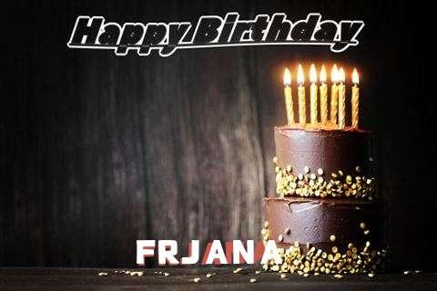 Happy Birthday Cake for Frjana