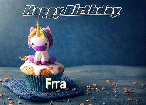 Happy Birthday Frra