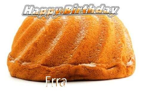 Happy Birthday Frra Cake Image