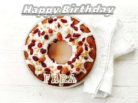 Happy Birthday Cake for Frra