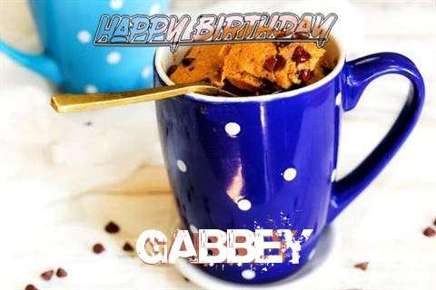 Happy Birthday Wishes for Gabbey