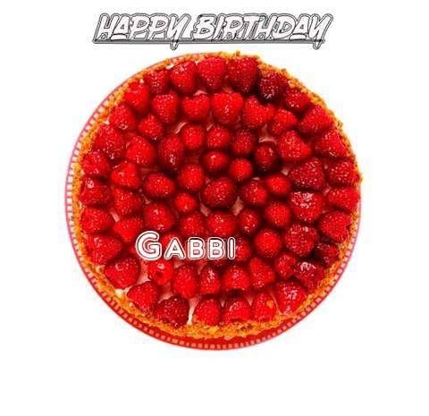 Happy Birthday to You Gabbi