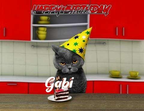 Happy Birthday Gabi
