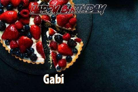 Gabi Birthday Celebration